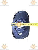 Зеркало элемент с подогревом ЛЕВОЕ LANOS (большое ВАЖНО ЗАМЕРЯТЬ СВОЁ! 19х12см) (пр-во Польша) З 949593, фото 3
