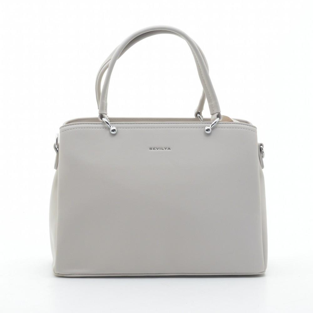 Женская сумка 9312 бежевая