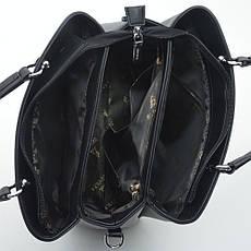 Женская сумка 9312 бежевая, фото 3
