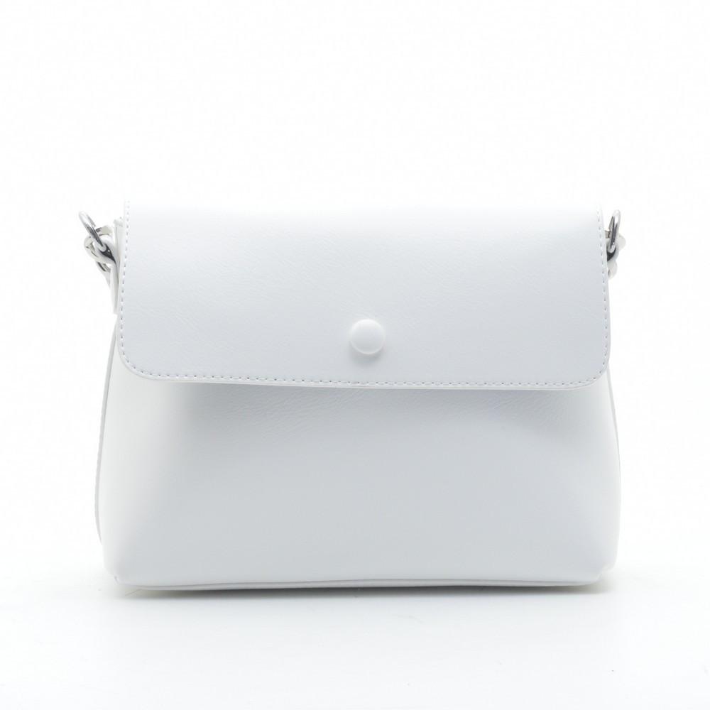 Клатч-сумка искусственная кожа 1928 белый