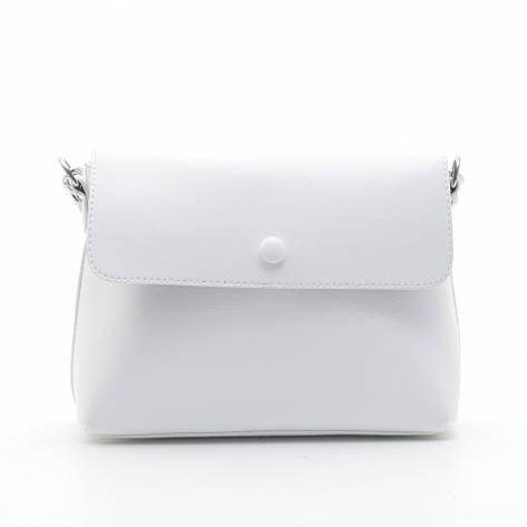 Клатч-сумка искусственная кожа 1928 белый, фото 2