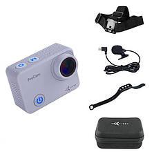 Экшн-камера AirOn ProCam 7 Touch с аксессуарами 8в1 (69477915500058)