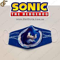 "Детская маска Соник  - ""Sonic Mask"", фото 1"