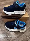 Кроссовки на большой подошве.Синие кроссовки., фото 9
