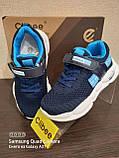 Кроссовки на большой подошве.Синие кроссовки., фото 6
