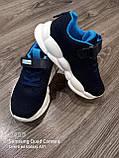 Кроссовки на большой подошве.Синие кроссовки., фото 4