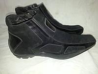 Ботинки мужские замшевые зимние FULETTO 001