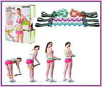 Массажер-лента роликовый Massage Rope | Ручной массажер для всего тела | Роликовый массажер