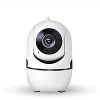Видеоняня. Tuya Smart App. Поворотная IP WIFI камера видеонаблюдения с микрофоном PT13 HD  1920x1080p