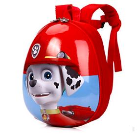 Детский рюкзак игрушка Веселые щенята красный, для детей от 1 до 8 лет