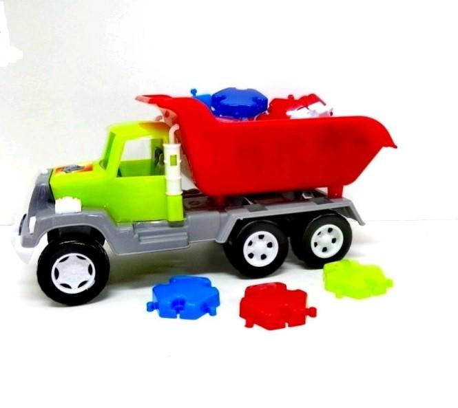 Машина №05-520-6 самоскид з мозаїкою, 25 деталей/Кіндер-Вей