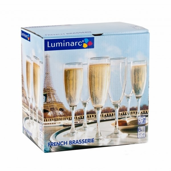 Набор бокалов Luminarc French Brasserie H9452
