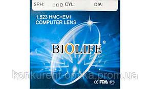 Линзы компьютерные минеральные защитные антибликовые Biolife