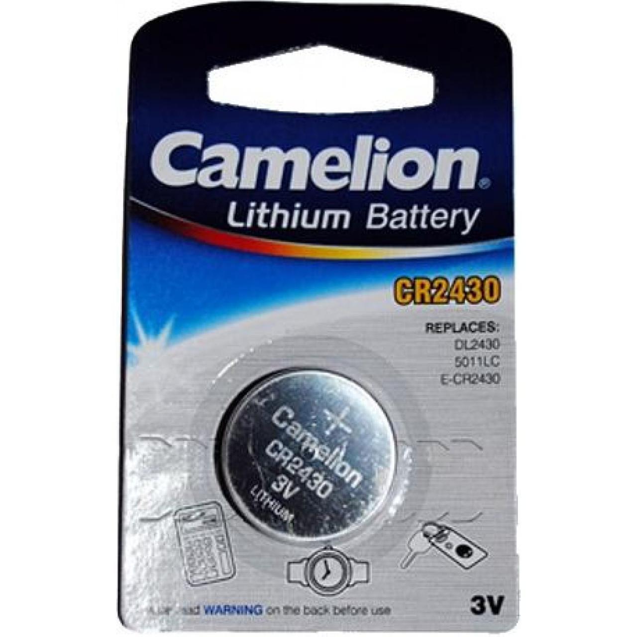 Батарейка Camelion CR2430/1bl