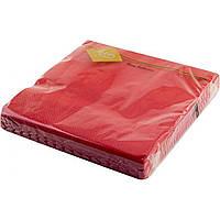 Серветки столові ТМ Luxy 3065 3-шарові 20 шт. червоні