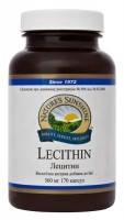Лецитин (Lecithin) NSP - 170 капсул - питание для мозга и нервной системы.