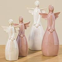 Статуэтка Ангел цветная керамика h22см  1009531, фото 1