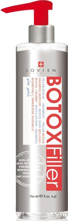 Шампунь для глибокого відновлення волосся з ефектом ботокса Lovien Essential Botox Filler Shampoo 250 мл