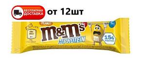 Батончик M&M'S hi Protein 51г Peanut bar