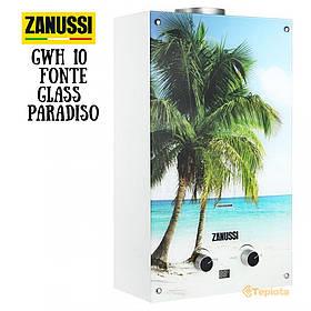 Колонка газовая Zanussi GWH 10 Fonte Glass Paradiso