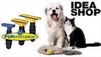 Фурминатор расческа для кошек и собак 10.16 см.