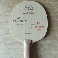 Основание теннисной ракетки TTL Favorit, фото 1