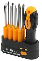 Tolsen Tools Комплект змінних викруток 9 предметів
