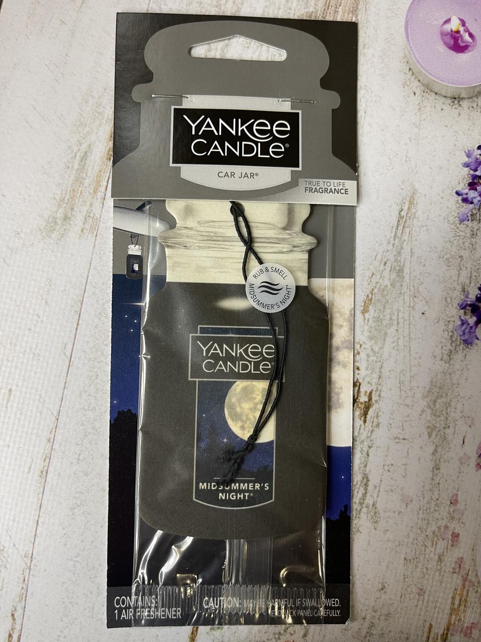 Аромат в машину Yankee Candle Літня ніч
