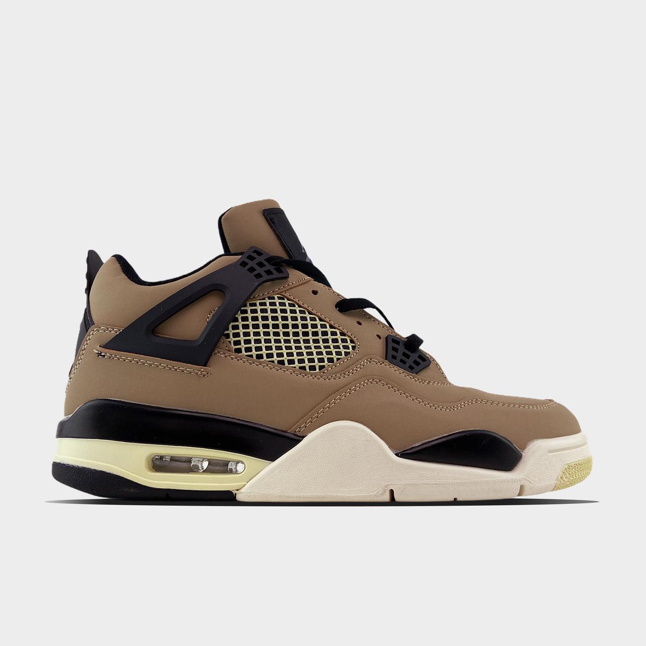Nk, крос, обувь, взуття, sneakers, шузы, Air Jordan 4 Retro NRG Raptors (Коричневый)