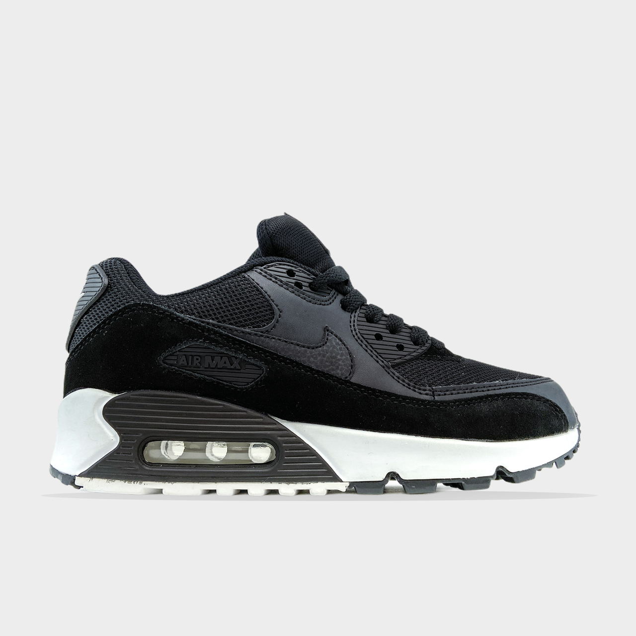 Nike Air Max 90 Black White (Чорний)