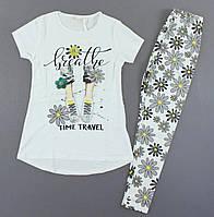 Стильний комплект трійка для дівчинки, фото 1