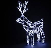 Олень новогодний LED светодиодный