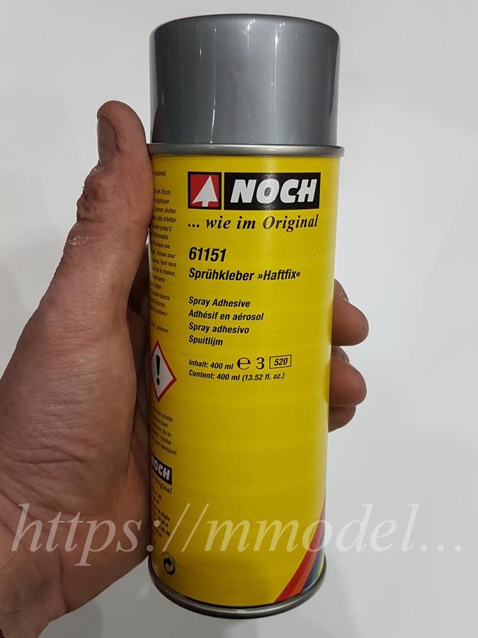 "Noch 61151 - аерозольний Клей ""Spray Glue ""Haftfix"",400 мл, масштабу G, 0, H0, TT, N, Z"