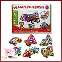 Детский магнитный конструктор Mag-Building 36 предметов