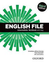 English File 3rd Edition Intermediate Workbook with Key
