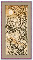 Восточный мотив. Дерево Набор для вышивки крестом RTO M131