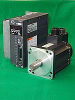 Сервопривод комплектный Hitachi ADA3-08NSESC+ADMA-08SA121E/2,39 Нм/0,8 квт