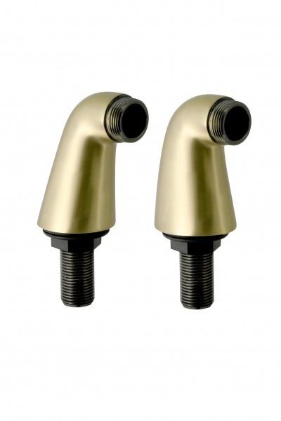 Крепеж для вертикального монтажа смесителя в ванную (латунь)