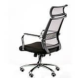 Офісне крісло Amazing black, фото 5