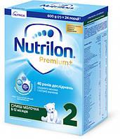 Детская смесь Nutrilon Premium+ 2 (6-12 мес) 600 г