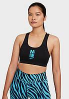 Топ жен. Nike W Nk Swsh Icnclsh Hbr Bra Sp21 (арт. DC5541-010)