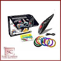Ручка аккумуляторная с трафаретом в комплекте с 8-ью цветами пластика K9902
