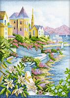 Город у моря Набор для вышивки крестом RTO M248