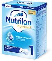Сухая молочная смесь Nutrilon Premium+ 1 1 (0-6мес) 600 г