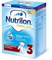Сухая молочная смесь Nutrilon Premium+ 3 (12-18 мес) 600 г