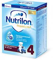 Сухая молочная смесь Nutrilon Premium+ 4 (18-24 мес) 600 г