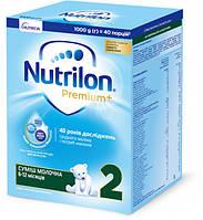 Сухая молочная смесь Nutrilon Premium+ 2 (6-12 мес) 1000 г