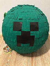 Пиньята Minecraft Creeper (Майнкрафт Крипер)