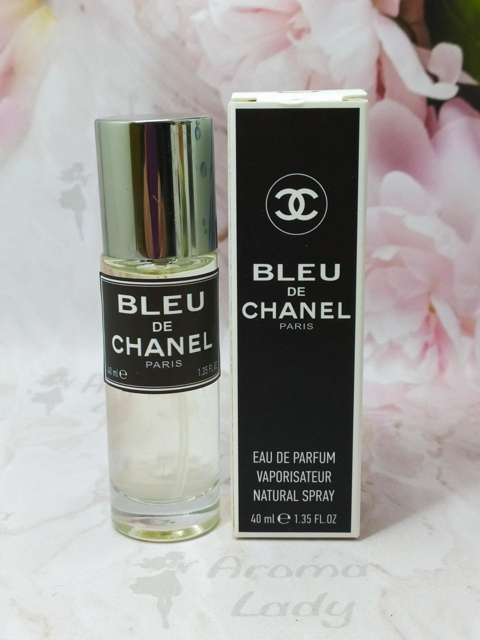 Мужской мини парфюм Bleu de Chanel (Шанель Блю Де Шанель ) 40мл