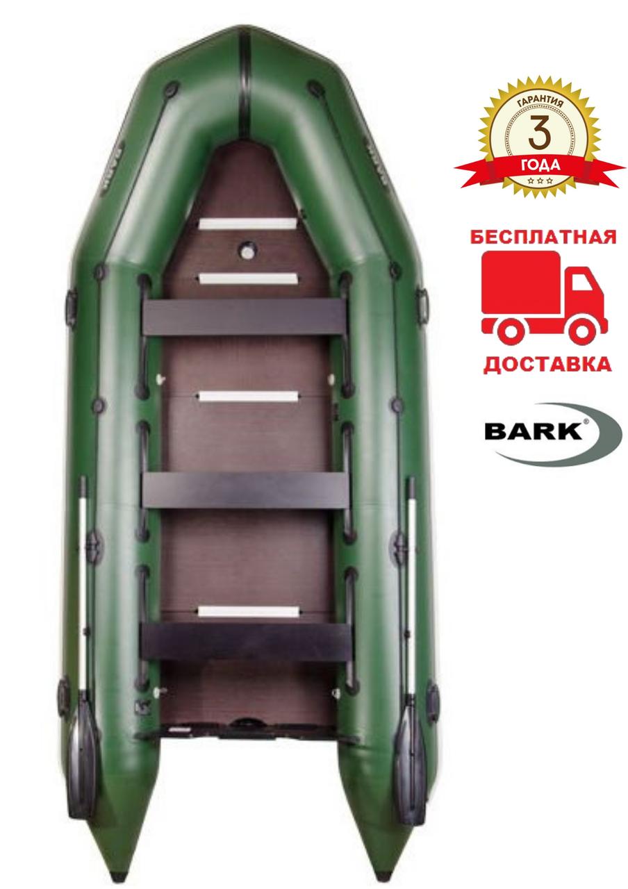 BARK BТ-450S Надувная универсальная восьмиместная моторная ПВХ лодка Барк